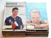 1959 Sports Illustrated Run Of 38 Issues Vintage Magazines Bathgate Delany Khan