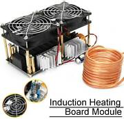 2000w Zvs Induction Heating Board Module Flyback Driver Heater W/ Coil 50a