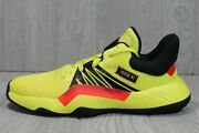 57 Rare New Mens Adidas D.o.n. Issue 1 Engine 45 Yellow Eh2435 Size 6.5
