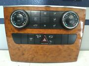 06-08 Mercedes W251 R350 Ml350 Front A/c Ac Heater Climate Control Switch Oem