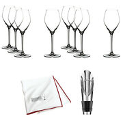 Riedel Extreme Crystal Champagne/rose Wine Glass, Set Of 8 With Opener Bundle