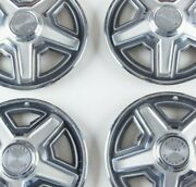 64 1/2 Ford Mustang Four 4 Hubcaps Auto Parts Muscle Car Vintage