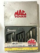 Mac Tools Snap On Craftsman 13pc. Punch And Chisel Set Pc12ptss - Priced To Sell