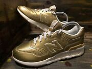 New Balance Big Kids 997h Sneaker - Classic Gold With Sea Salt Gr997hgs 6y