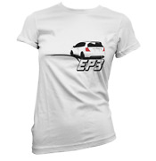 Rear Ended Ep3 Womens Tshirt Pick Colour And Size Gift Present Japanese Car Fan