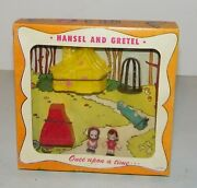 Vintage 1951 Emenee Very Rare New In Box Once Upon A Time Hansel And Gretel New
