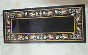 4and039x2.5and039 Marble Dining Coffee Center Table Top Mosaic Inlay Malachite Fh27