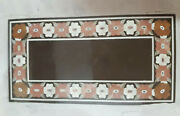 4and039x2.5and039 Marble Dining Coffee Center Table Top Mosaic Inlay Malachite Fhn28