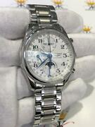 Longines Master Collection Automatic Chronograph Moon Phase Menand039s Watch Gift