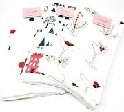 Kate Spade Christmas Kitchen Towels Lot Of 3 Sets