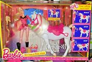 Barbie And Her Sisters In A Pony Tale Rc Train And Ride Horse And Doll New Open Box
