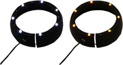Custom Dynamics Passing Lamp Trim Rings With White Drl And Led Turn Signals