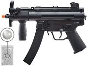 Umarex Heckler And Koch Hk Airsoft Rifle Mp5k With Pack Of 1000 6mm Bbs Bundle
