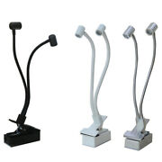 6w Led Picture Light Battery-power Button Spotlight Wireless Clamp Clip Reading