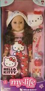 My Life As 18 Poseable Hello Kitty Doll Brown Hair Kids Girl New