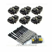 Sw22 Ignition Coils B3206and12 Cable Wiresand12 Spark Plugs Set For Mercedes Series