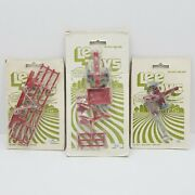 Vintage Lee Toys Tractor And Implement Sets Lot Brand New In Original Packaging