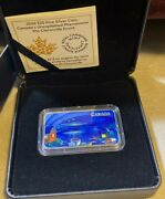 Ufo Coin 2020 Canada The Clarenville Event Glow-in-the-dark 1oz Silver Bar .999
