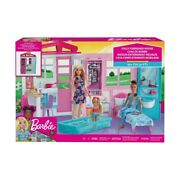 Barbie Fully Furnished Dollhouse Christmas Gift Toys 2020 Kidschild New S1
