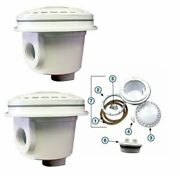 Dual Main Bottom Drain Kit For Above Ground Swimming Pools