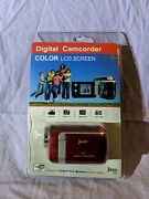 New Digital Handheld Camcorder Color Lcd Screen Jazz Z40 Red 2010 Digitech