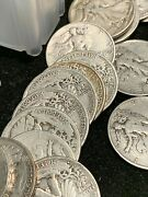 5.00 Face Value 1964 Or Earlier 90 Silver From An Unsearched Old Estate Hoard