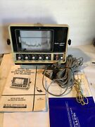 Ray Jefferson 960 A Fishfinder / Depthfinder With Cables And Manual