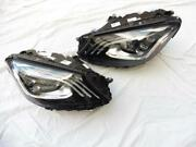 17-18 Mercedes Benz W222 S550 S600 Multibeam Led Headlight Left And Right Oem