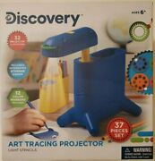 Tracing Projector Light Stencils 37 Pc Set Discovery Art