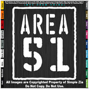 - Aliens Area 51 Vertical Sign Ufo Roswell Space Area 51 Sticker Decal