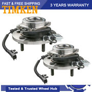 Timken 2 Front Wheel Bearing Hub Assembly For 08-11 Town Country Grand Caravan