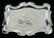 Art Nouveau Sterling Silver Cherub Tray Cooper Brothers And Sons Ltd 1904