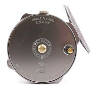 Hardy 1939 Bougle Heritage Reel - Free Line And Backing - Free Shipping