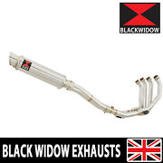 R6 Yzf600 06-16 High Level De-cat Exhaust System Round Stainless Steel Sg35r