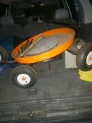 Vintage Blue Moon Wagon Riding Round Pull Big Boy Manufacturing Parts Or Project