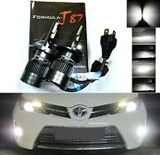 Led Kit G8 100w 9003 Hb2 H4 5000k White Two Bulbs Head Light Replacement Upgrade