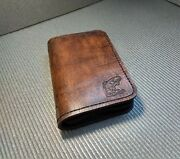 Fly Nymph Wallet, Fly Fishing Leather Wallet