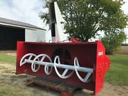 1980 George White And Sons 90717 Super Blizzard 87 Inch Snowblower/snowplow