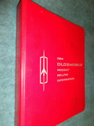 1964 Oldsmobile Dealer Showroom Album / Original Salesmans Sales Book Cutlass++