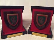 X2 Garrison Golf Club Port Dickson Malaysia Presentation Plaques In Cases 1980andrsquos