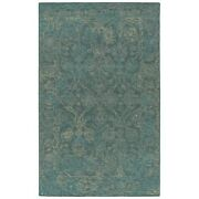 Kaleen Rugs Courvert Area Rug, Pewter Green, 9'x13' - Cou97-102-913