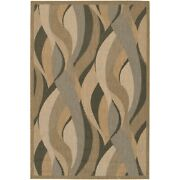 Couristan Recife Seagrass Natural And Black Indoor/outdoor Rug 2and0393x11and0399 Rn