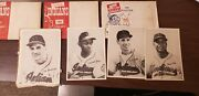 Vintage 1948 Cleveland Indians Picture Pack Set / 1950 1951 And 1952 Sets
