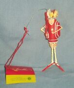 Department 56 Christmas Krinkles Patience Brewster Golf Clubs Bag Lady Ornament