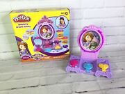 Play-doh Disney Sofia The First Amulet And Jewels Vanity Set Mirror Incomplete