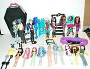 Monster High Dolls Vintage Males Cats Rare Lot Of + Coffin 1999-2015 Collect
