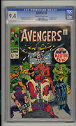 Avengers 54 Cgc 9.4 Nm Unrestored Marvel 1st Ultron 1st New Masters Of Evil