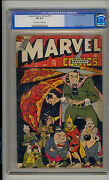 Marvel Mystery 79 Cgc 6.0 Fn Unrestored Human Torch Toro Old Label Cr/ow Pages