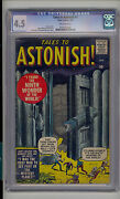 Tales To Astonish 1 Cgc 4.5 Vg+ Atlas Marvel 1st Issue Scarce Ow Pages