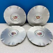 2010-2016 Cadillac Srx 4665 Silver Painted Center Caps 9597415 Set/4 On Sale
